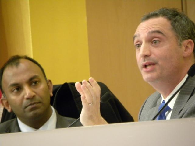 Law Forum '14 -- Thiru+Keith Pion