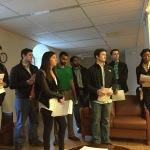 Students at Safe & Sound.