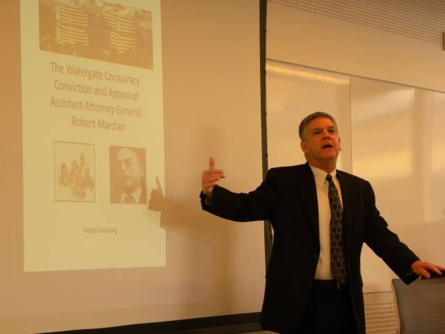 Professor Emeritus Arnold Rochvarg discusses his new e-book,