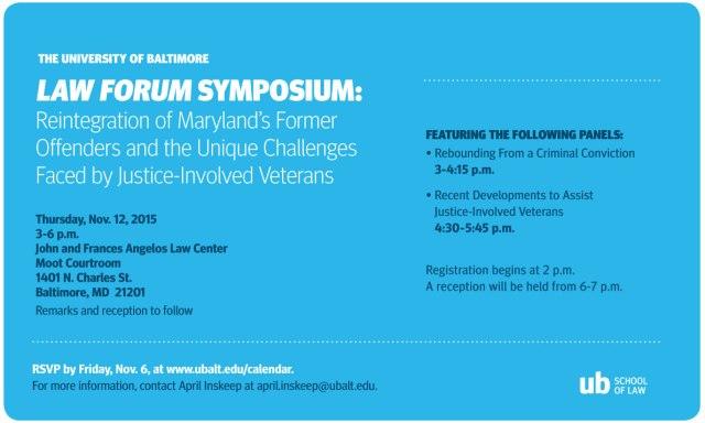 Law Forum evite 2015