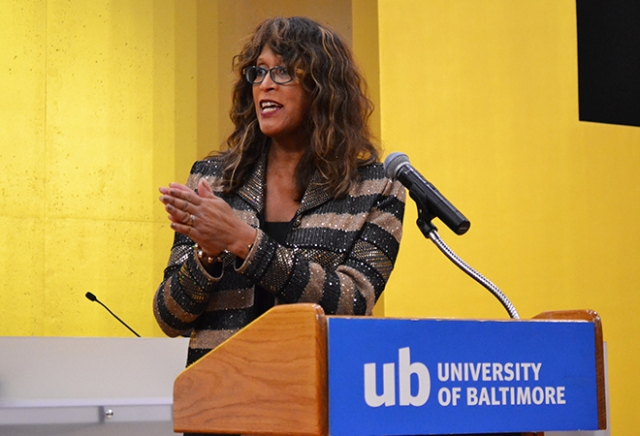 The Hon. Pamila Brown, J.D. '79, president of the Maryland State Bar Association, was the keynote speaker at the School of Law's 22nd annual Awards Ceremony.