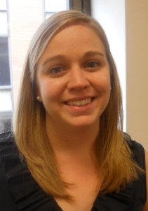 Emily Rogers, J.D. '12, assistant director of law placement in UB's Law Career Development Office.