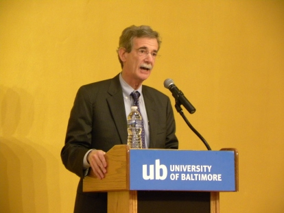 Maryland Attorney General Brian Frosh delivered the keynote address at the Oct. 17 Law Review symposium.