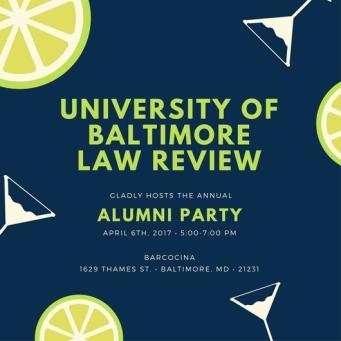 Law Review Alumni Invitation