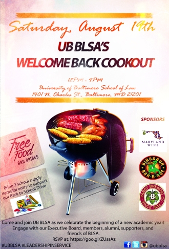 UB BLSA Welcome Back Cookout 8.19.17 (Revised)