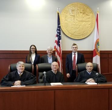 UB Law tax moot court team