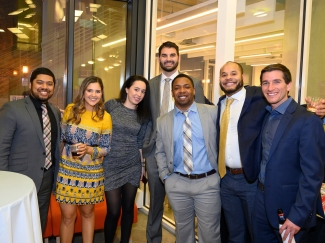 students enjoy fellowship at UBSPI auction