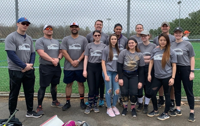 UB Law softball team